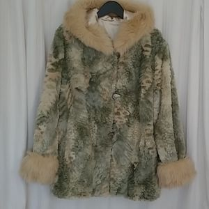 Jackets & Blazers - TWO TON FAUX FUR WOMEN'S COAT